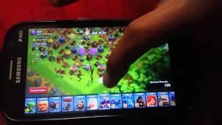 Clash of Clans crashing world top player