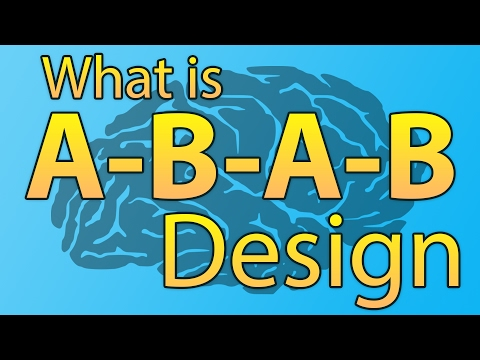 What is A-B-A-B Design? - Psychology Terminology & Glossary Learning - Simple Learning Ways!
