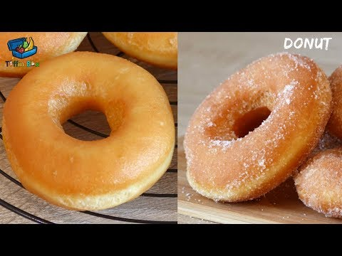 Best Donut / Donught Recipe For Kids Tiffin Box    Homemade Fried Donuts - ডোনাট রেসিপি