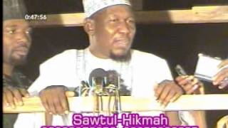 Repeat youtube video Sheikh Muhammad Kabiru Gombe (Tarkon Shaidan)