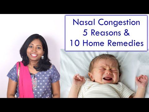 Nasal Congestion in Babies & Kids – Reason and 10 Home Remedies