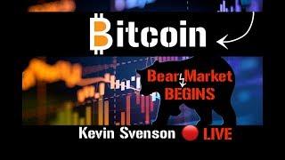 Bear Market Begins . . . 🔴 LIVE | Crypto | Bitcoin