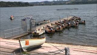 (HD) Chew Valley Lake , North Somerset. Mon 22nd July 2013.
