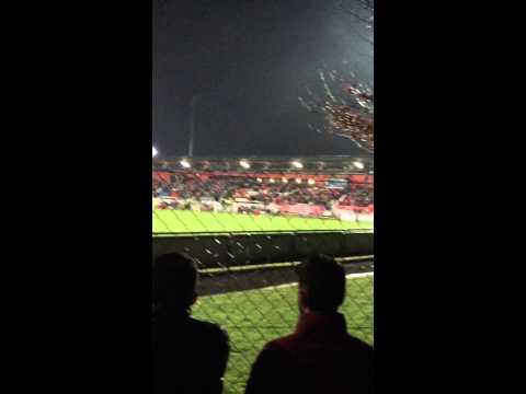 Albanian fans in Liechtenstein