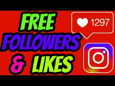 Instagram - Free Instagram Followers | How To Get Free Instagram Followers