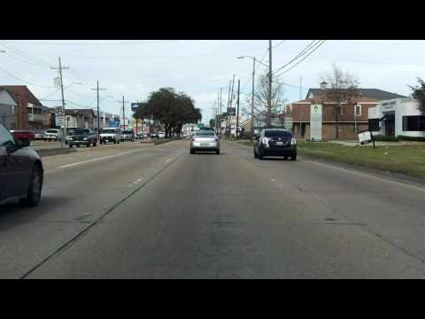 Clearview Parkway (LA 3152 from US 61 to I-10) northbound