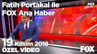 Önlem alınmadı iki kadın ıslak betona gömüldü... 19 Kasım 2018 Fatih Portakal ile FOX Ana Haber