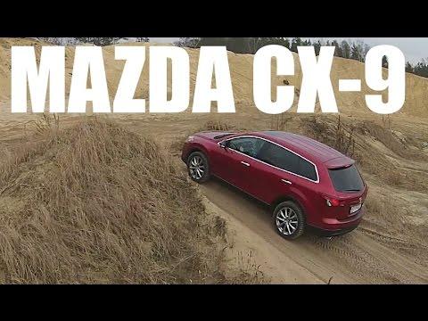 PL Mazda CX 9 test i jazda prbna
