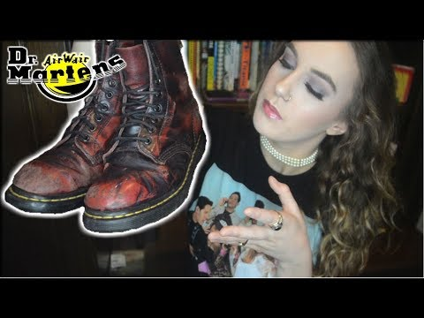I wore the same pair of DOC MARTENS for four years