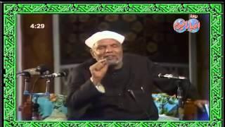 فضيلة الشيخ محمد متولي الشعراوي يشرح معنى الرزق