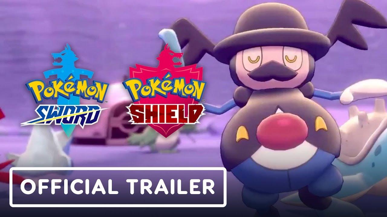 Pokemon Sword e Pokemon Shield - Trailer Oficial + vídeo