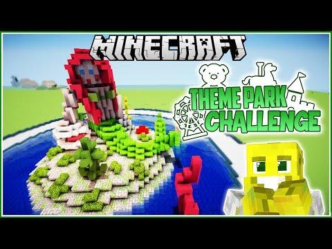 Mermaid Land! | Minecraft Theme Park Challenge | Ep.8