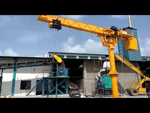 SUMO CRANES- Load test of the Jib cranes