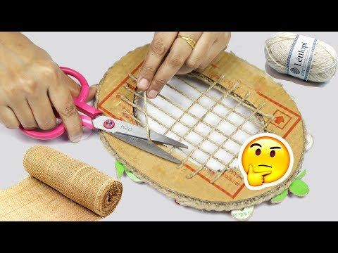 Simple and Easy Jute craft ideas | Home Decorating Ideas Handmade Easy and Simple