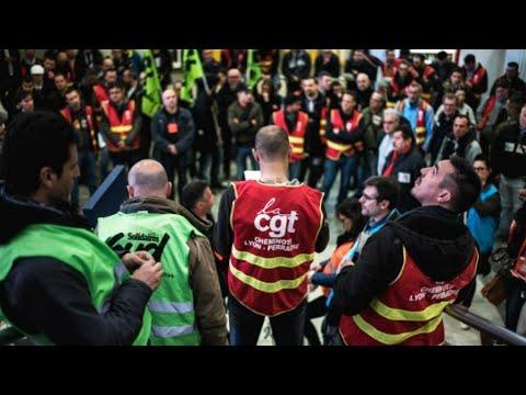 ثلاثاء أسود في فرنسا بسبب الإضرابات والمظاهرات تنديدا بإصلاحات الحكومة  - 15:23-2018 / 5 / 22