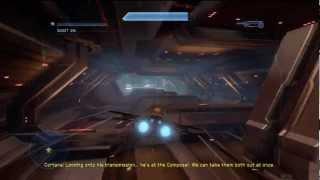 Halo 4 Campaign [Part 20] - Star Fox Death Star Trench Run!