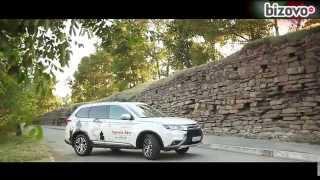 Тест-драйв Mitsubishi Outlander 2015 на bizovo.ru (бизово.ру бызово.ру) авторынок...