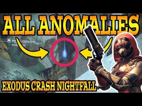 Destiny 2: EXODUS CRASH NIGHTFALL! (All Anomalies / How To Complete Nightfall (9/19/17)