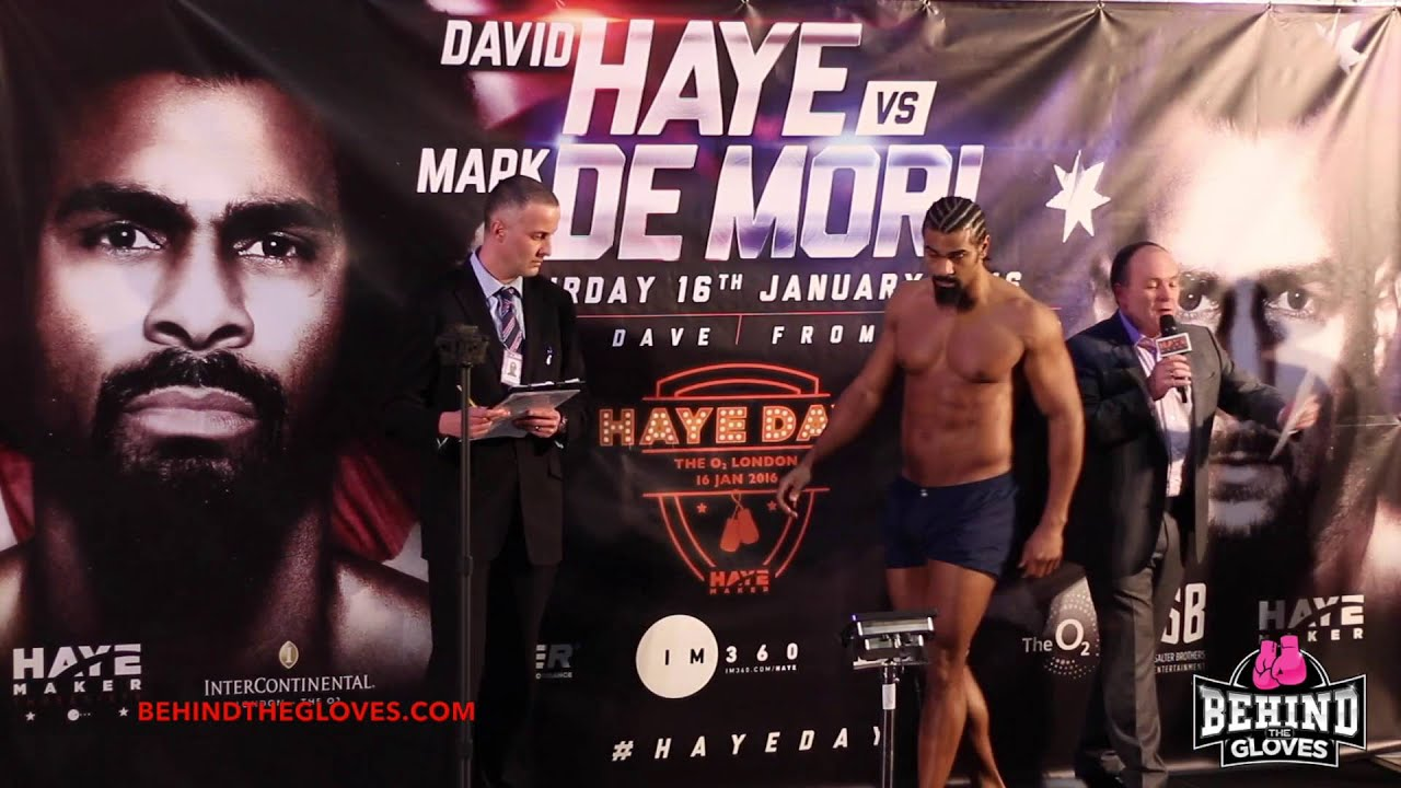david haye vs mark de mori