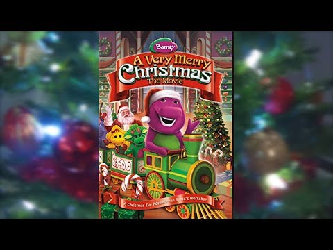 Barney A Very Merry Christmas The Movie Dvd.Access Youtube