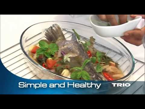 Healthy Steam Fish – Trio Food Steamer