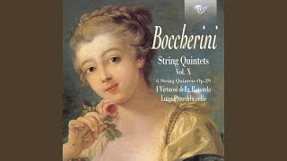 String Quintet No. 4 in A Major, G. 316: II. Minuetto