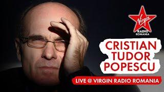 Reacția lui Cristian Tudor Popescu în direct la Virgin Radio România, după victoria Simonei Halep