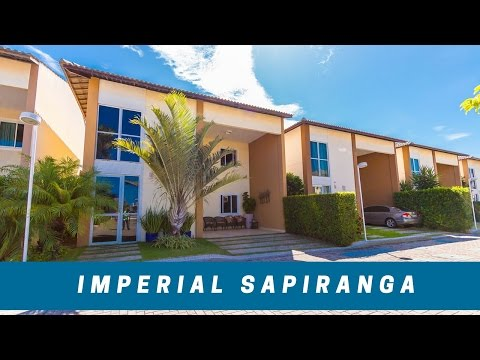 IMPERIAL RESIDENCE SAPIRANGA - CASA DUPLEX EM CONDOMINIO NA SAPIRANGA EM FORTALEZA