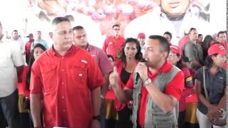 Amado Heredia en contacto directo en Casacoima, PRIMARIAS PSUV 2015