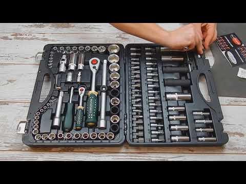 Набор инструментов Rock Force 41082R-5 (108 предметов)