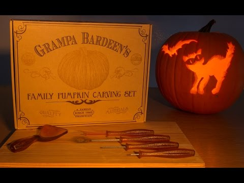 Grampa Bardeen's - Pumpkin Carving Kit