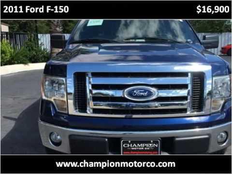 2011 Ford F-150 Used Cars San Antonio TX & 2011 Ford F-150 Used Cars San Antonio TX - YouTube markmcfarlin.com