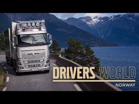 Volvo Trucks - Transporting Live Fish Through The Norwegian Fjords – Driver's World (EP12)