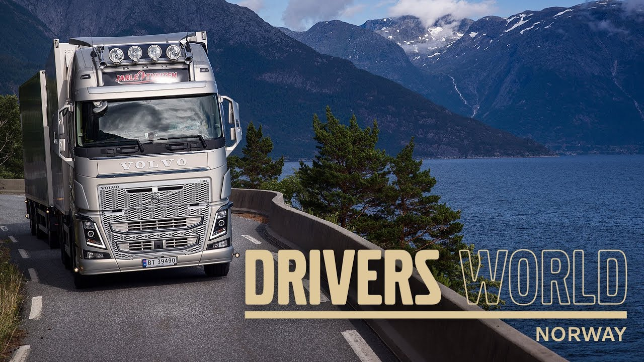 Volvo Trucks Transporting Live Fish Through The Norwegian Fjords Driver S World Ep12