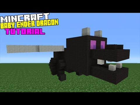 minecraft how to build a dragon statue