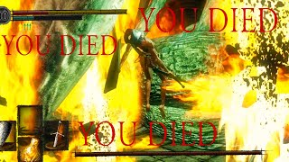 This Boss Fight is HOT GARBAGE!! [DARK SOULS] [#10]