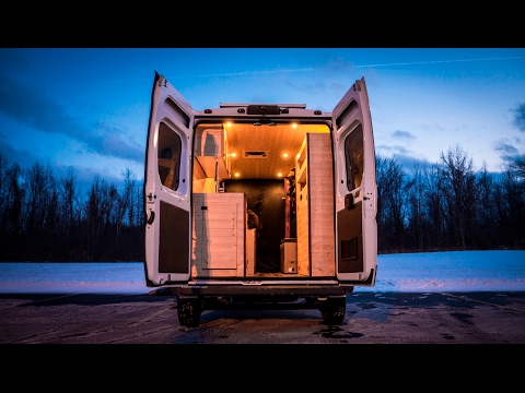Tiny Home/Stealth Camper/Conversion Van Built In 180 Hours