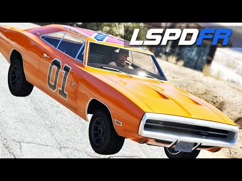 LSPDFR E119 - Dukes of Hazzard Run | Police Chase Me | General Lee vs Polaras