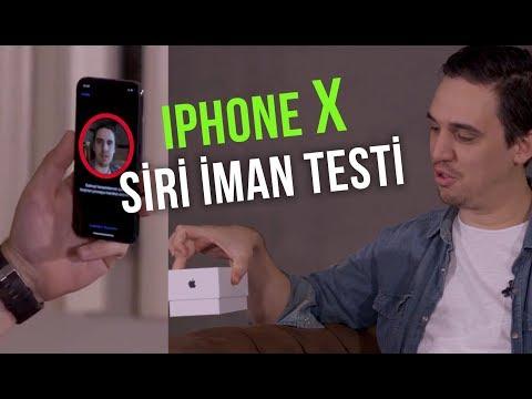 iPhone X SİRİ İMAN TESTİ - AMERİKANIN GİZLİ OYUNU