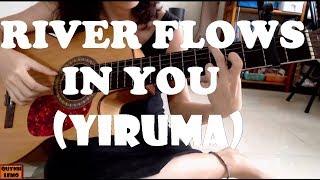 RIVER FLOWS IN YOU (YIRUMA) | GUITAR SOLO