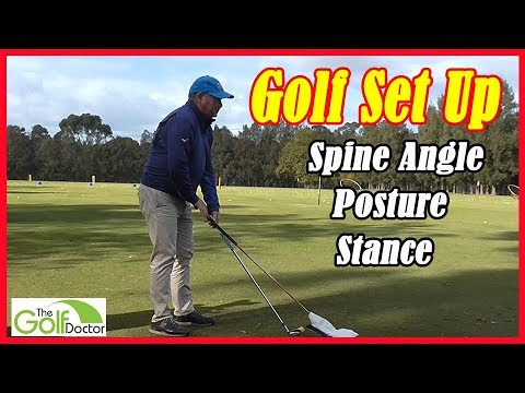 Golf Swing Fundamentals – Set Up Procedures