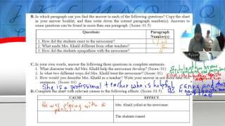 English   Grade 8   Final Exam  Review Worksheet