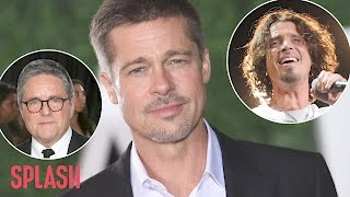 Brad Pitt Devastated by Deaths of Chris Cornell and Brad Grey | Splash News TV