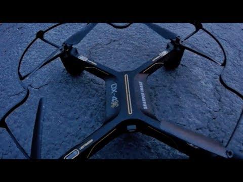 Sharper Image Dx 4 Streaming Drone 1st Flight Slight Range Test