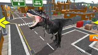 Best Dino Games - Extreme City Dinosaur Smasher 3D City Riot Android Gameplay screenshot 4
