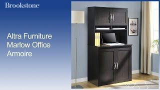 Altra Furniture Marlow Office Armoire