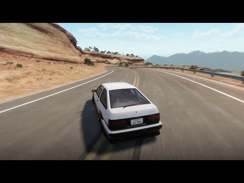 When the eurobeat kicks in - Forza Horizon