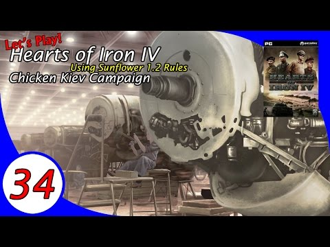 The Chicken Kiev Campaign, a Let's Play Hearts of Iron IV - Ep 34