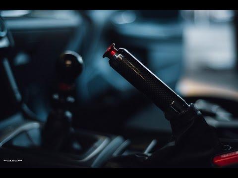 2015 Subaru WRX Carbon Fiber E-Brake and Red Subispeed Button  DIY Install