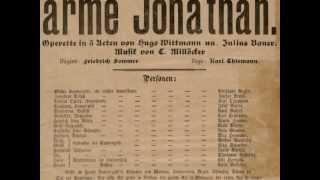 """CARL MILLÖCKER: Ouvertüre zu """"Der arme Jonathan"""""""